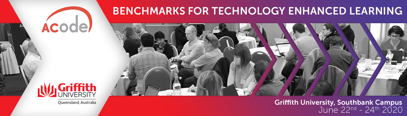 ACODE Benchmarks for Technology Enhanced Learning - 22-24 June, 2020